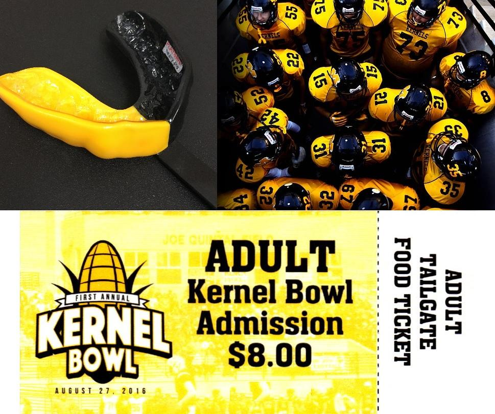Kernel Bowl Mouth Guards from Dental Health Partners in Mitchell, SD