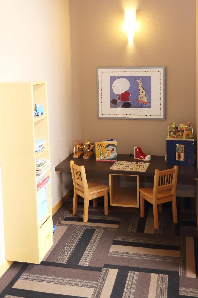 Children's Play Area at Dental Health Partners in Mitchell, SD