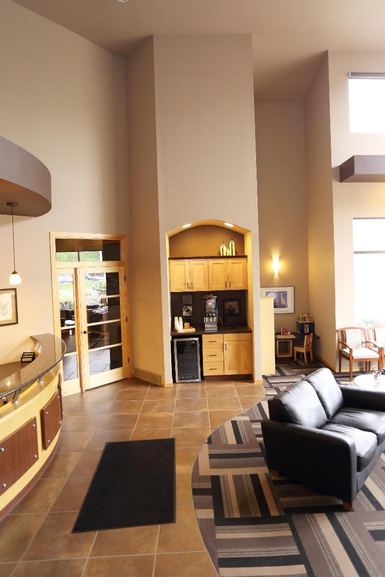 Coffee Bar at Dental Health Partners in Mitchell, SD